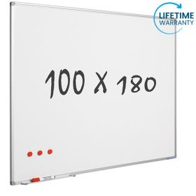 whiteboard emaille 100 x 180 cm
