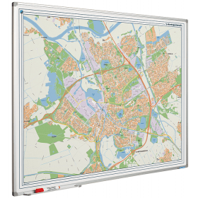 Whiteboard landkaart - Den Bosch