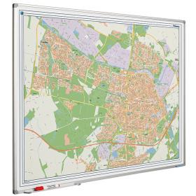 Whiteboard landkaart - Tilburg