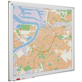 Whiteboard landkaart - Antwerpen