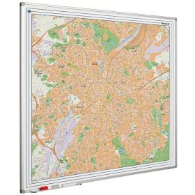 Whiteboard landkaart - Brussel