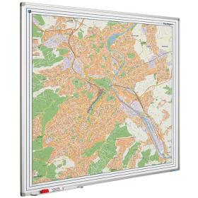 Whiteboard landkaart - Stuttgart
