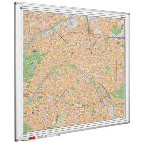Whiteboard landkaart - Parijs