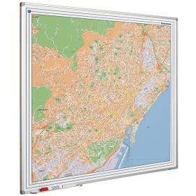 Whiteboard landkaart - Barcelona