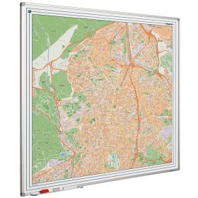 Whiteboard landkaart - Madrid