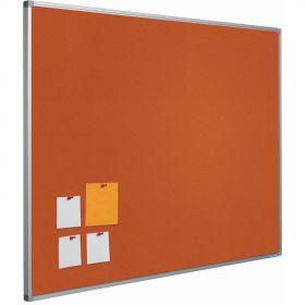 Prikbord bulletin 16mm oranje - 45x60 cm