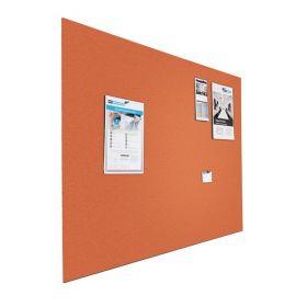 Prikbord bulletin - Zwevend - 90x120 cm - Oranje 1