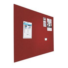 Prikbord bulletin - Zwevend - 120x180 cm - Rood 1