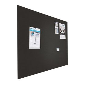 Prikbord bulletin - Zwevend - 60x90 cm - Zwart 1