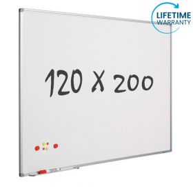 Whiteboard 120x200 cm - Magnetisch / Emaille *OUTLET*
