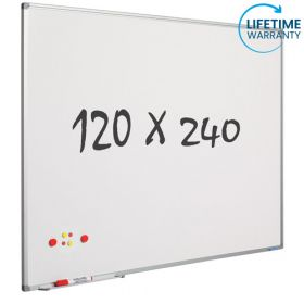 Whiteboard 120x240 cm - Magnetisch / Emaille *OUTLET*