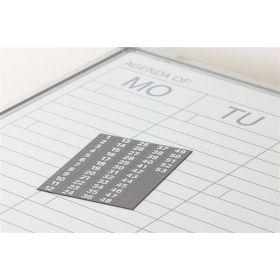 weeknummers voor weekplanner 52 stuks