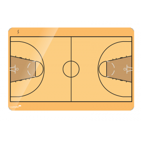 bedrukt basketbal whiteboard