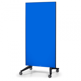 mobiel glasbord blauw