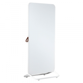 Chameleon Mobile dubbelzijdig glassboard 89 x 192 cm - Wit