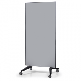 mobile glassboard grey