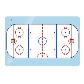 ijshockey op whiteboard bedrukken