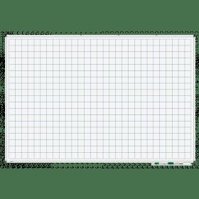 whiteboad met lijnen raster