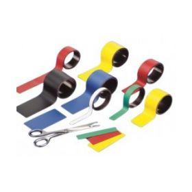 Magneetband oranje - 2 rollen - 5 x 100 cm