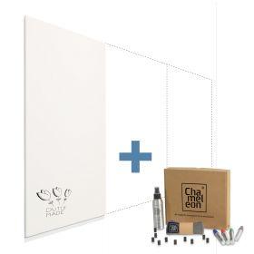 Chameleon Modular whiteboard wandpanelen 100x200 cm