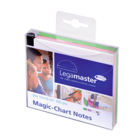 Magic-Chart Notes 10x10 cm - Assorti- 300 stuks 1