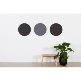Design prikbord rond - kleurcode 2209 - zwart