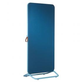 Chameleon Mobile dubbelzijdig prikbord 89 x 192 cm - Blauw
