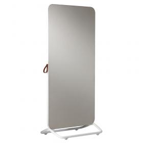 Chameleon Mobile dubbelzijdig prikbord 89 x 192 cm - Wit/Grijs