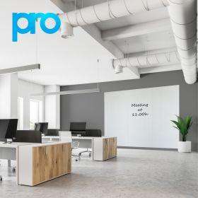 Whiteboardwand 200x300 cm (3 panelen) - PRO - Polyester coating