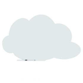 Skin whiteboard - Denkwolk - Wit - 75x115 cm