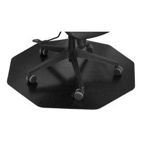 vloerbeschermer 9-hoekig zwart