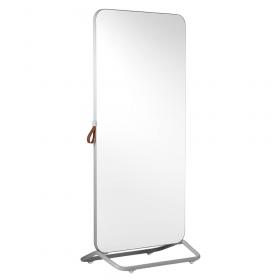 Chameleon Mobile dubbelzijdig whiteboard 89 x 192 cm - Grijs/Wit
