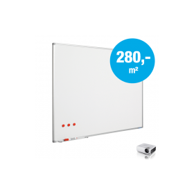 Whiteboard op maat - Emaille - Mat (max. 150x300 cm)