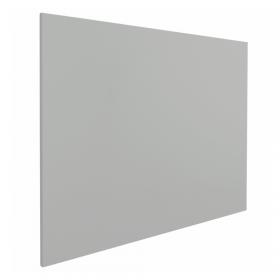 Whiteboard zonder rand - 100x150 cm - Grijs *OUTLET*