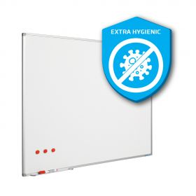 Whiteboard 120x150 cm - Magnetisch / Extra hygiënisch emaille