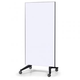 mobiel glassboard wit